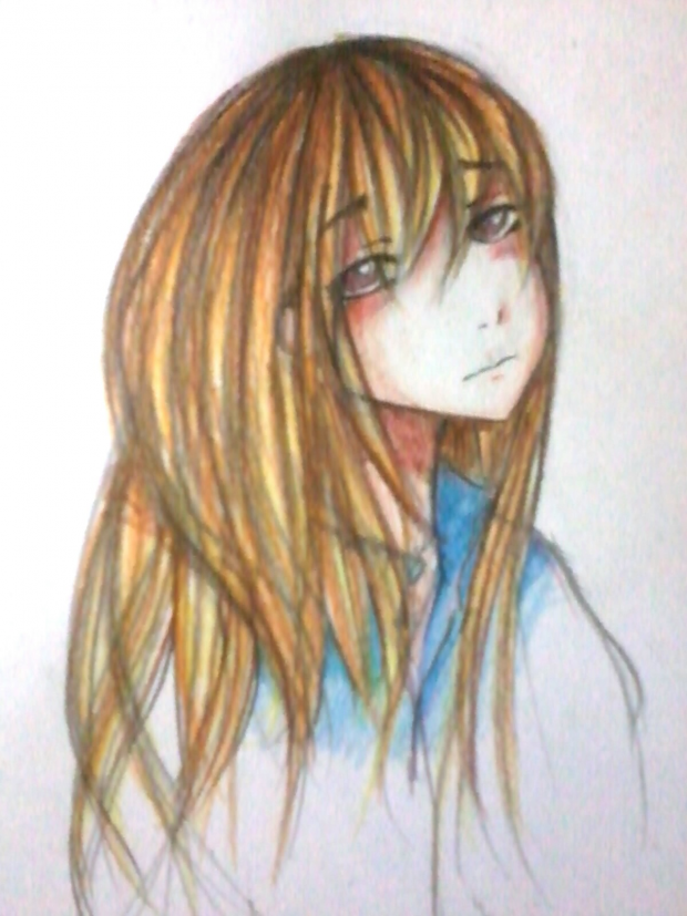 my colouring style~ (pencil colour)
