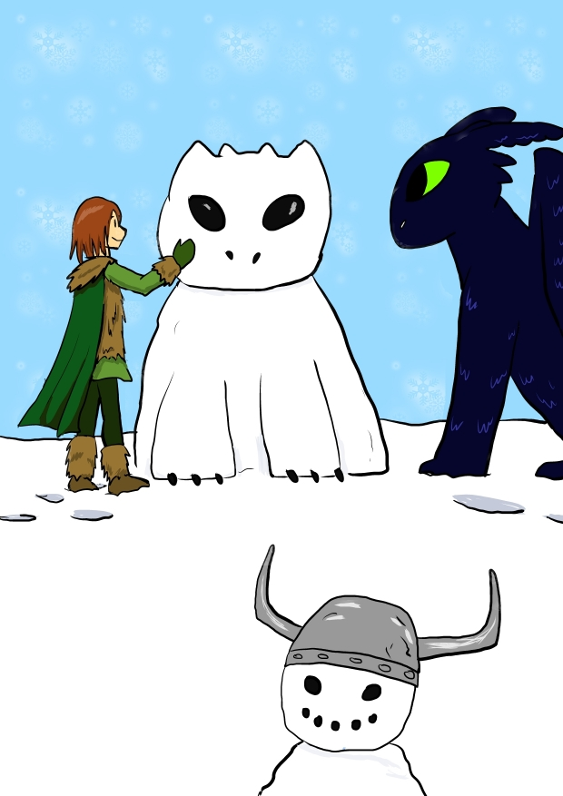 For MoonsMedly-Hiccup and Toothless