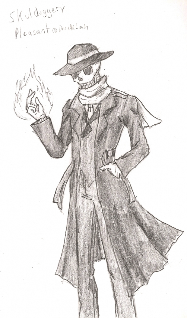 Skulduggery Pleasant
