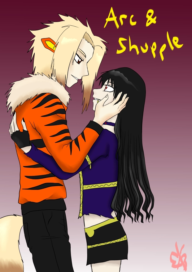 Arc and Shupple &lt;3