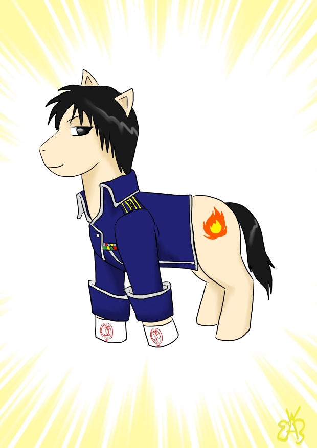 Roy Mustang Pony