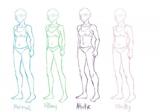 Female Body Study WIP