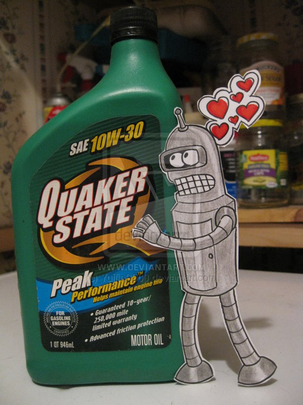 Bender in Love :Paper Child: