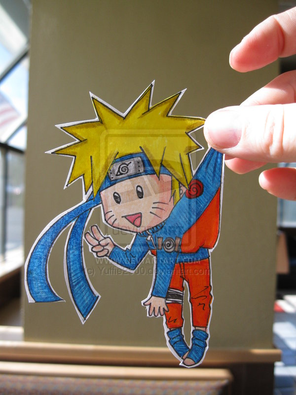 Naruto Uzumaki :Paper Child: