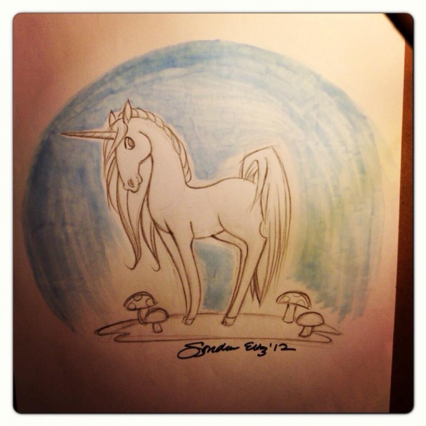 Unicorn illustration .....