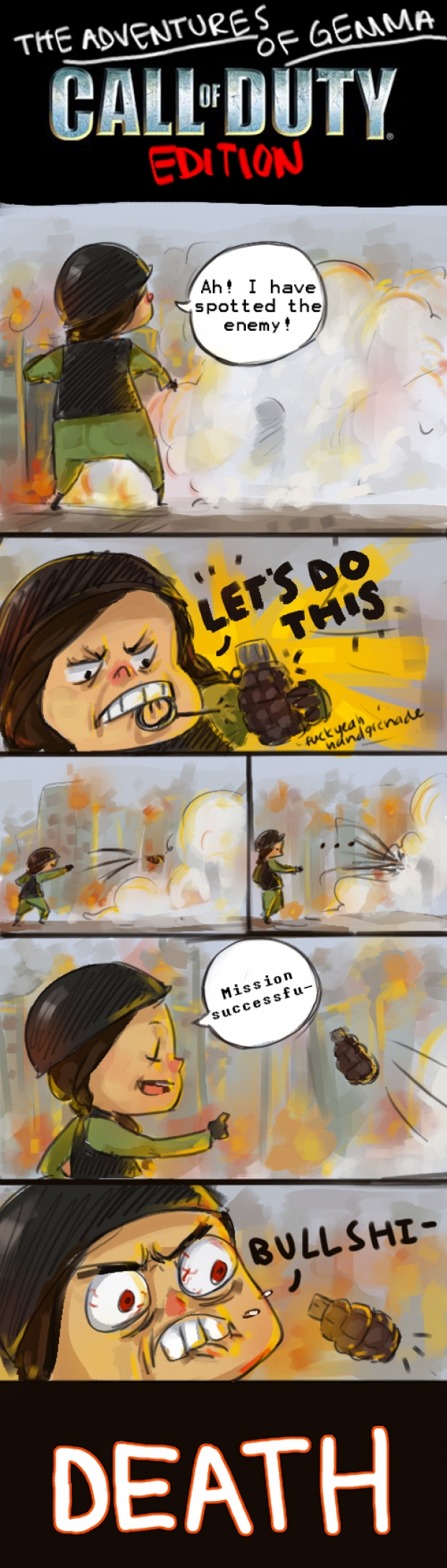 The Adventures of Gemma: Call of Duty Edition