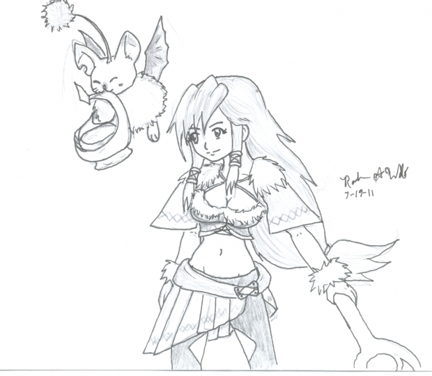 Crystal chronicles Selkie