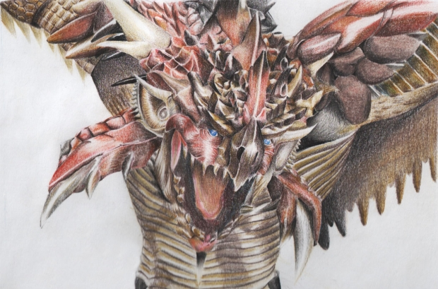 Monster hunter dragon