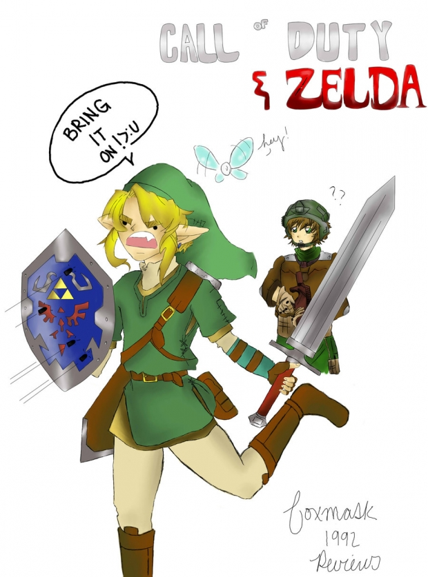 Zelda and Call of Duty?