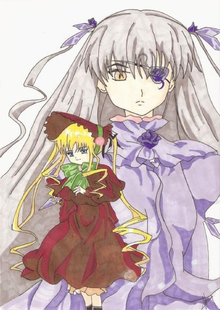 Shinku &amp; Barasuishou