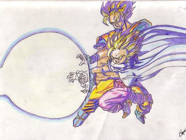 Goku feat Gohan