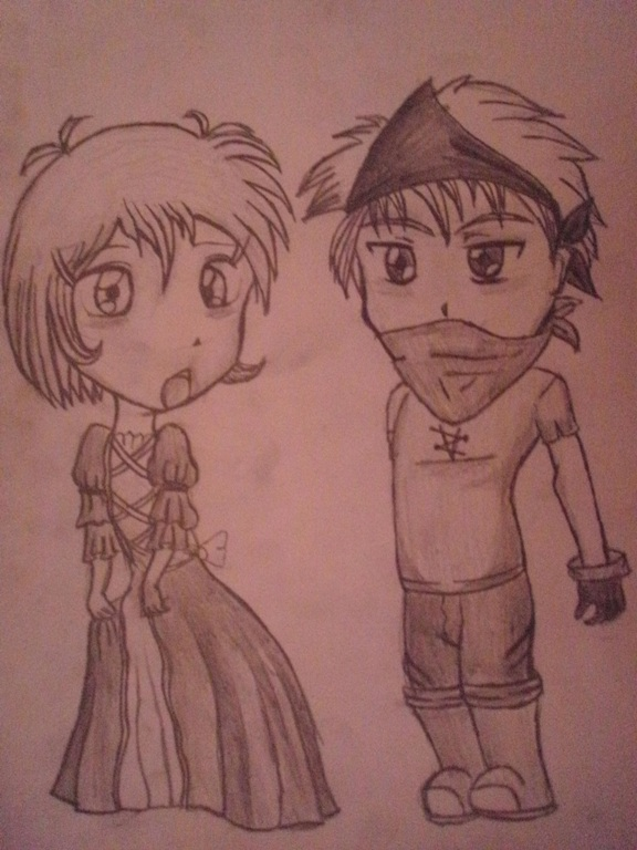 Chibis  pirate love