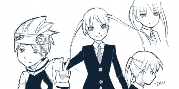 Soul Eater sketches