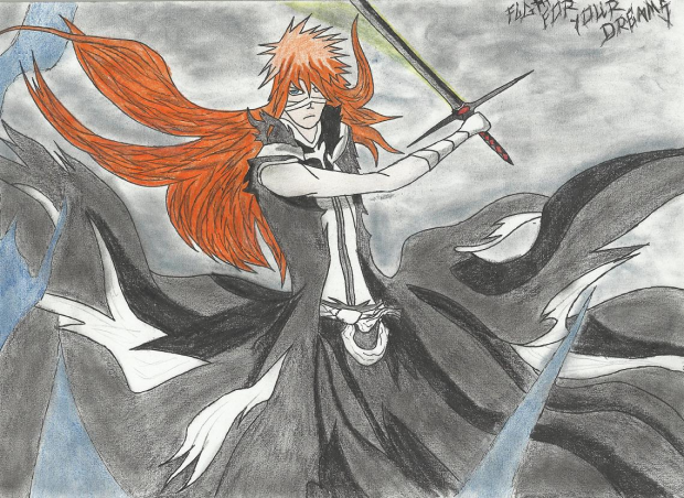 Ichigo Totaly New Bankai (fan version)