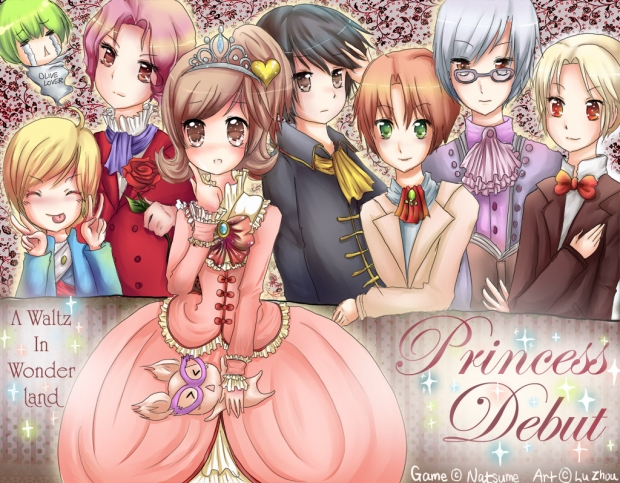 Contest Entry ~ Princess Debut