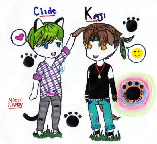 Clide and Kaji