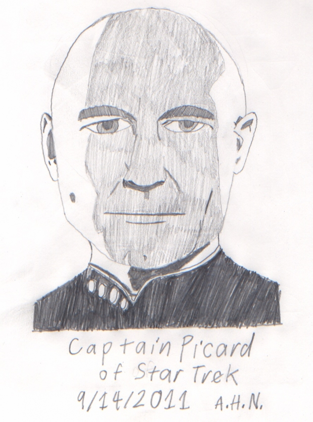 Captain Picard of Star Trek