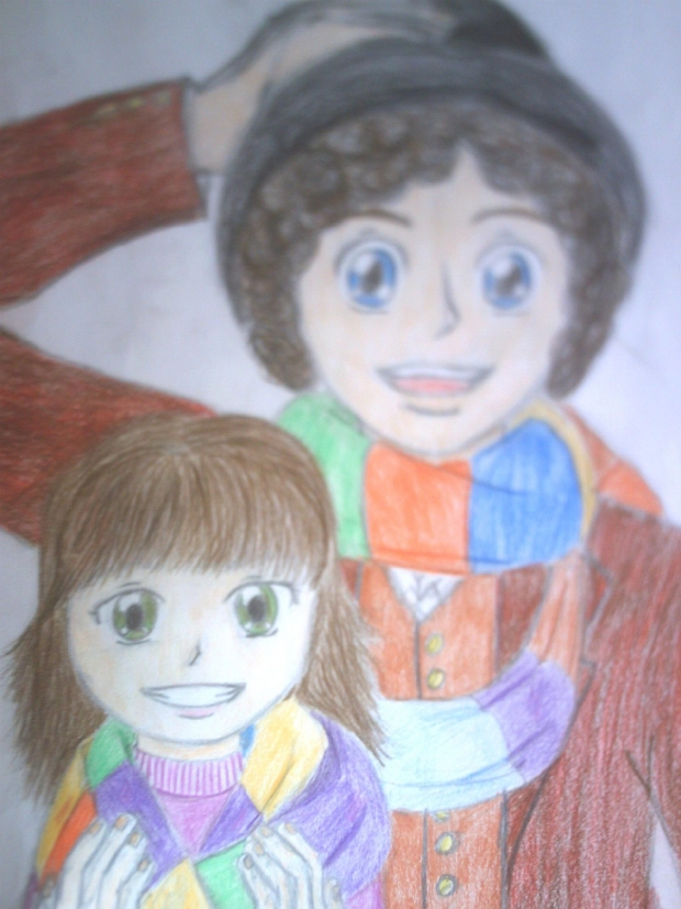 The 4rth Doctor and Sarah Jane