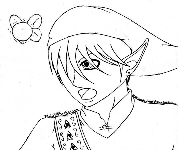Link-Lineart