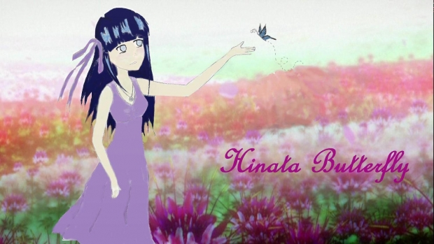 Hinata Butterfly (Colored Version)