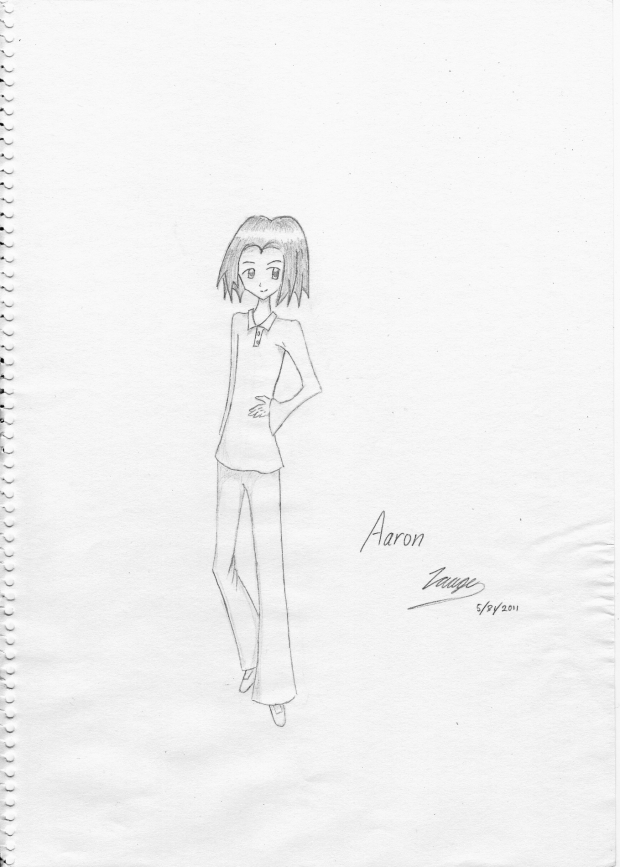 Aaron, My Smart OC