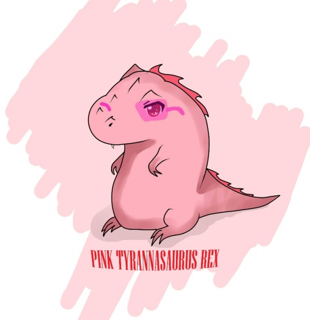 Pink T-Rex
