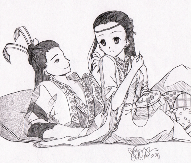 Yuanfan and Meiji
