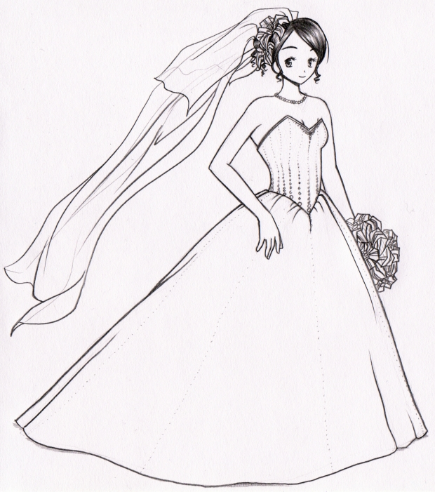 Panou's Wedding Dress