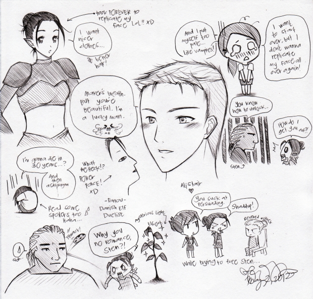 Dragon Age Doodles