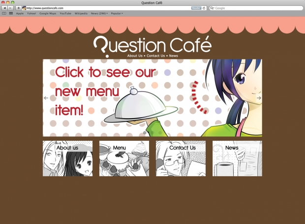 Question Cafe Homepage