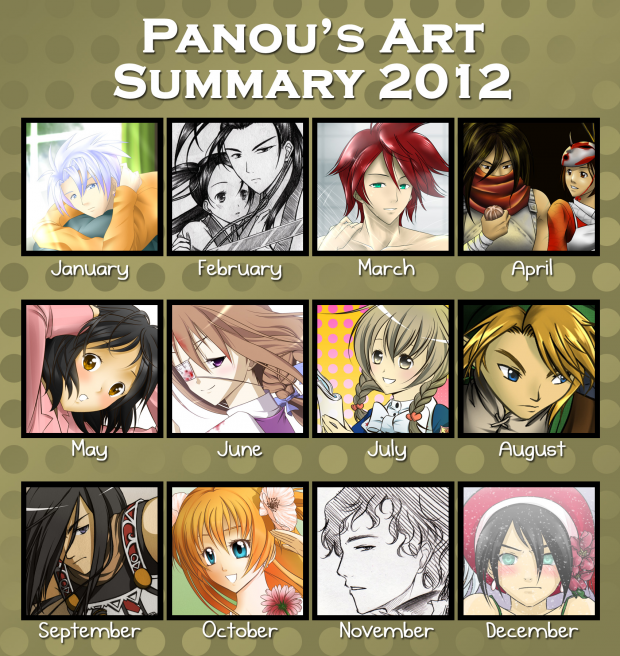 Art Summary 2012