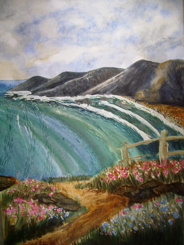Sea Waves Painting