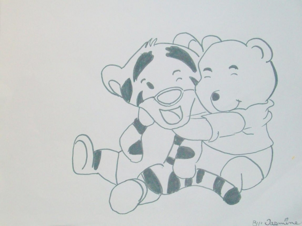 Winnie the pooh and tigger too!!