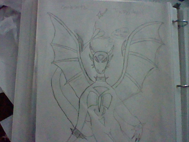 Free handed dragoness.
