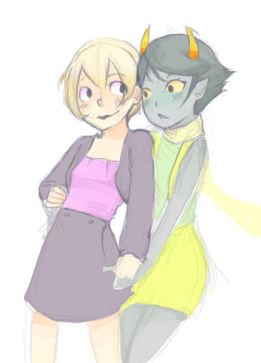Rose and Kanaya