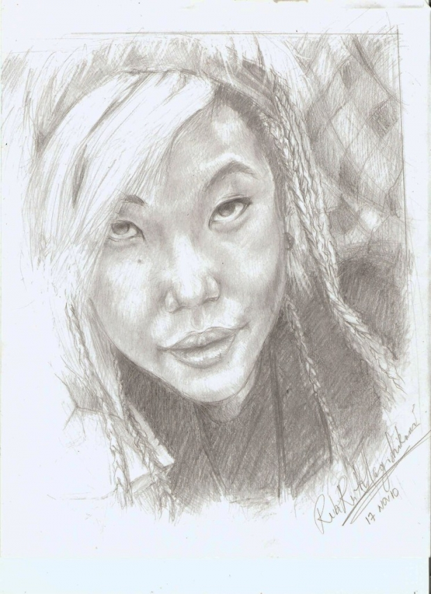 My second portrait...