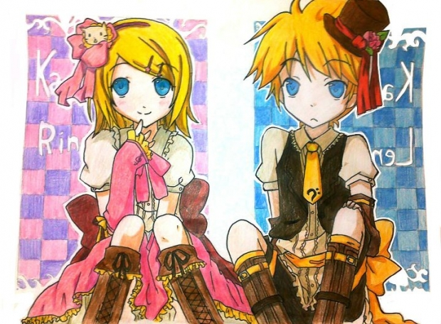 adorable kagamine's