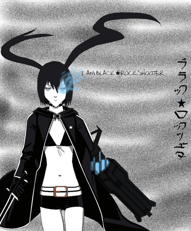 Black Rock Shooter Anime