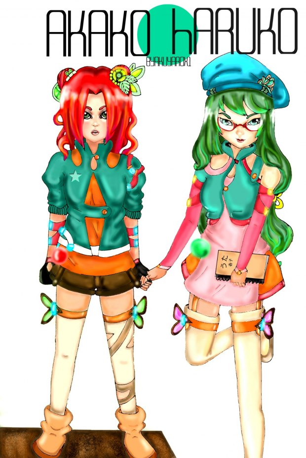 Akako and Haruko OC