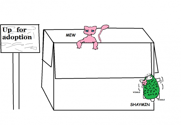 Mew in a box!