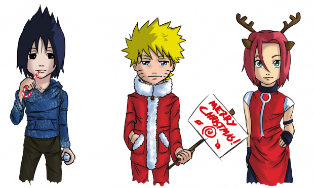 Naruto's Merry Christmas!