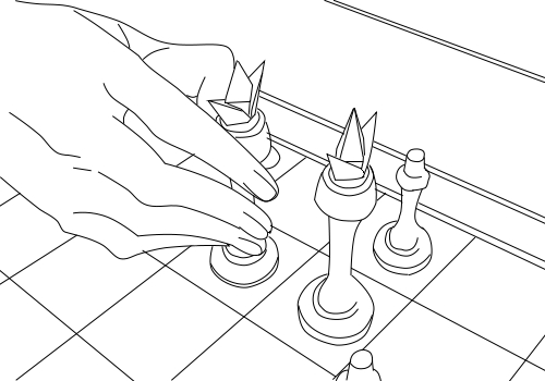 Chess lineart