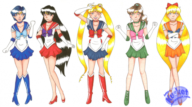 She Is The One Named Sailor Moon