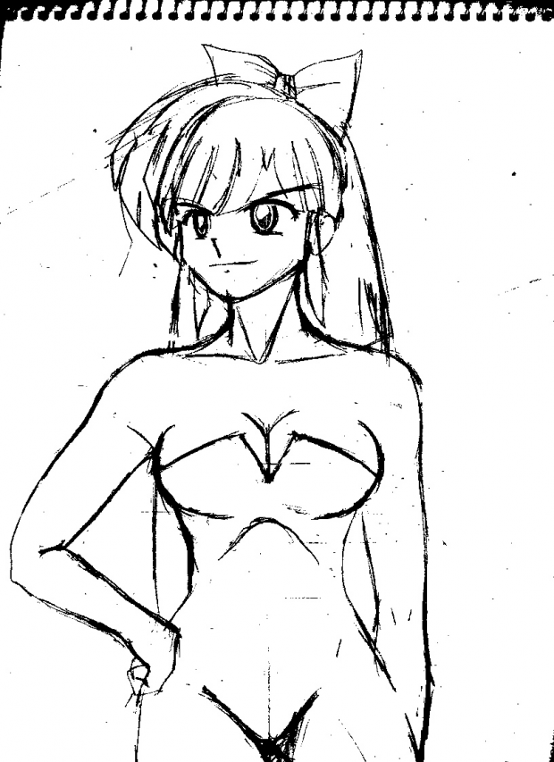 Ranma 1/2 BATTLE FOR FURINKAN (concept art)