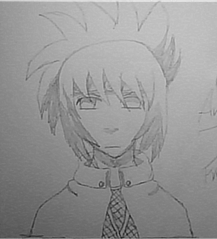 A free-hand drawing of Anko