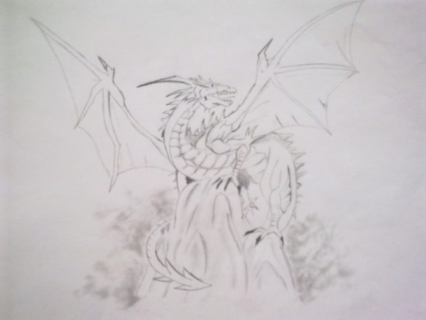 Dragon Sketch v1