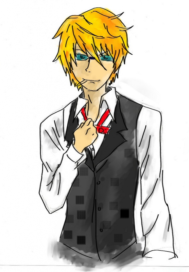 Shizuo's look a like