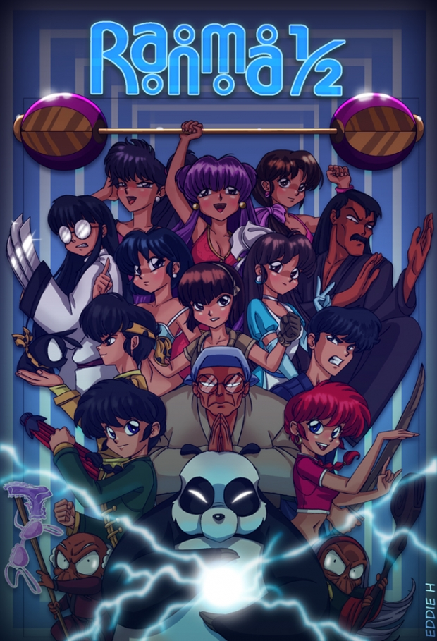 Ranma Poster