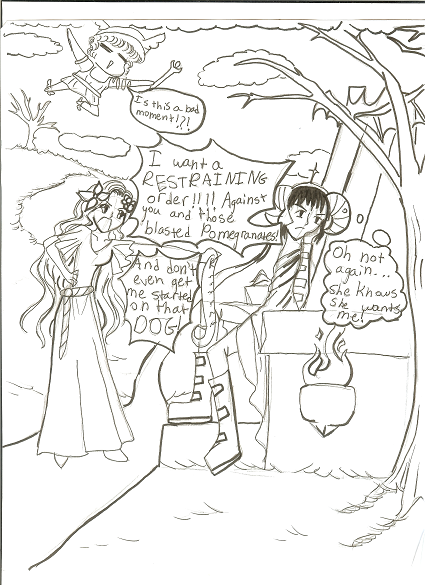 persephone coloring pages - photo #35