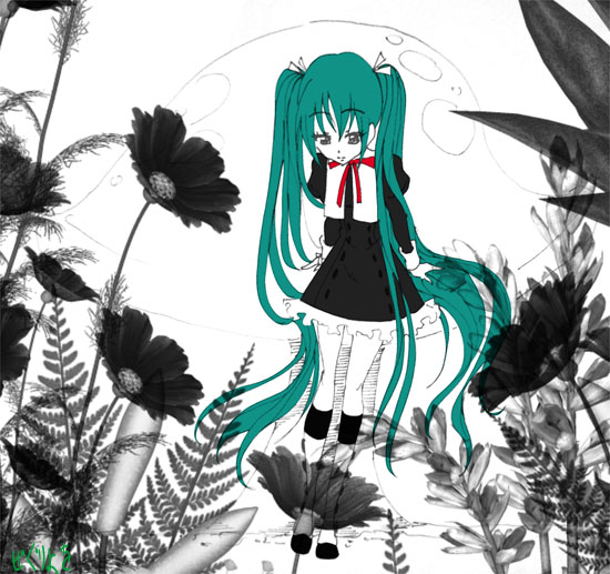 miku in wonderland